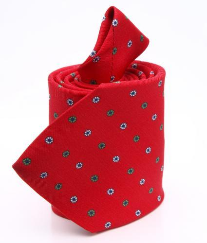 Shirt Floral red tie - silk The Shirt Factory