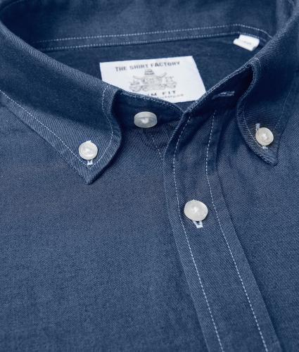 Skjorta  Brillo Denim The Shirt Factory