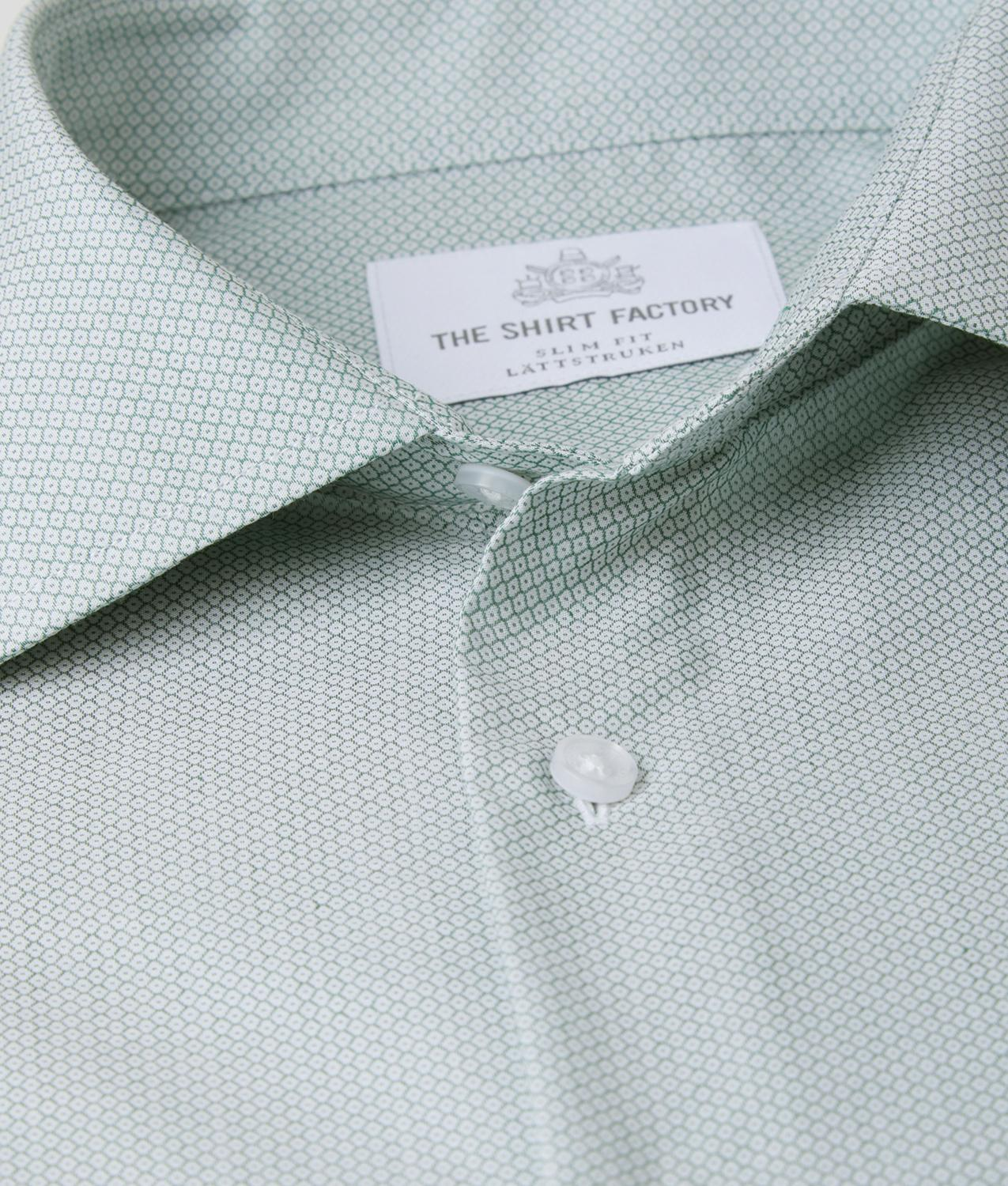 Shirt Dundee green The Shirt Factory