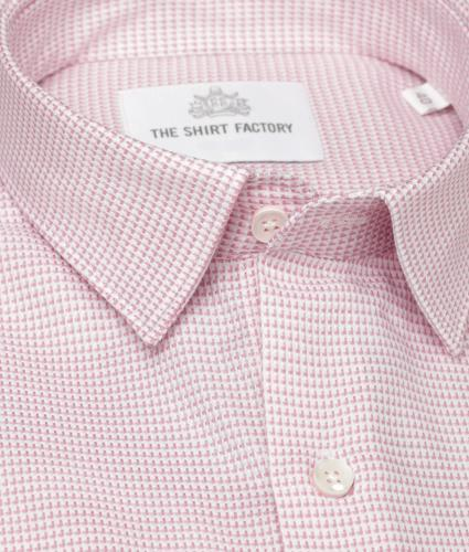 Skjorta Westlake Rosa The Shirt Factory
