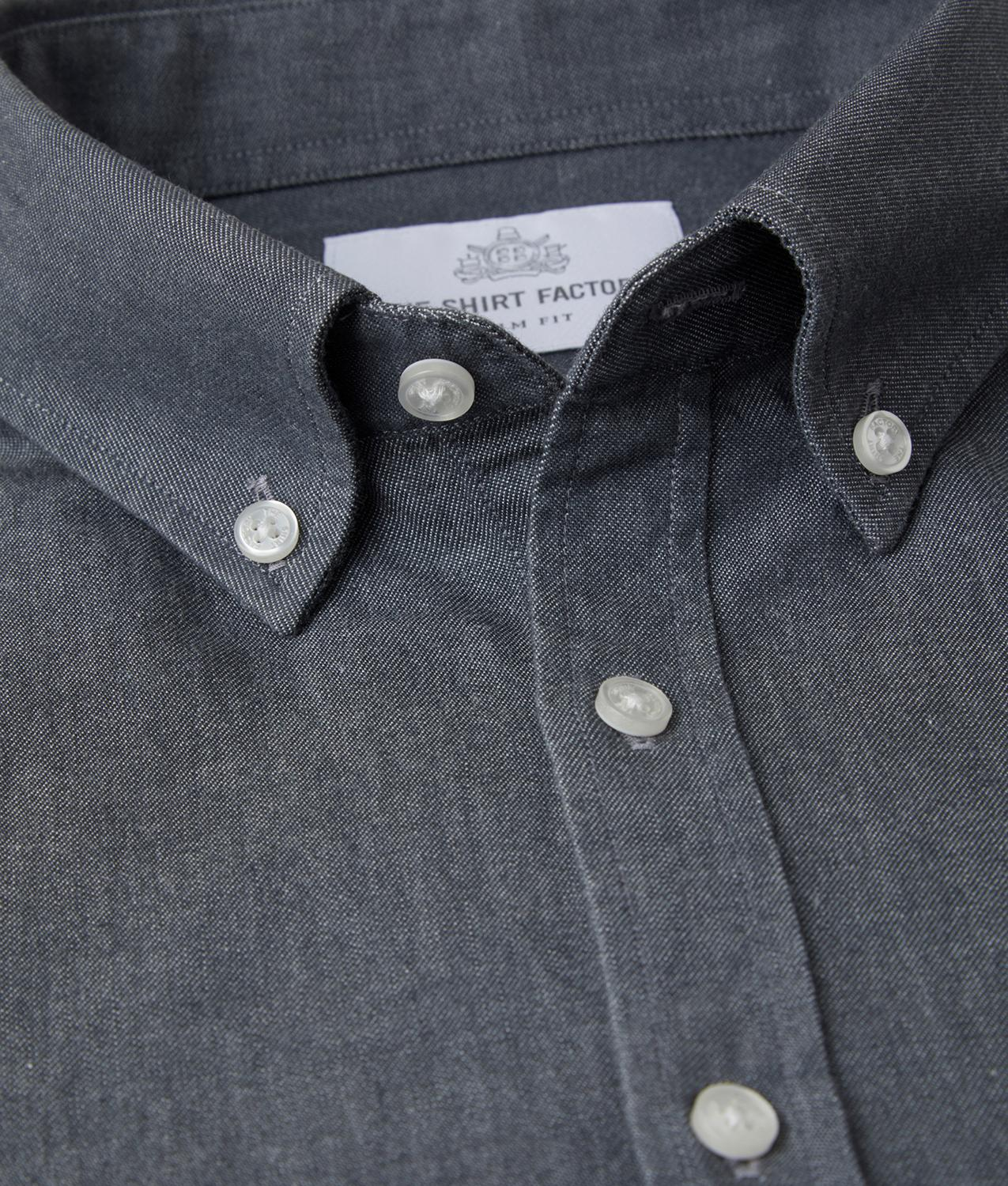 Shirt York Denim The Shirt Factory
