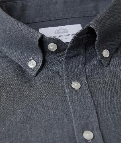 Skjorta York Denim The Shirt Factory